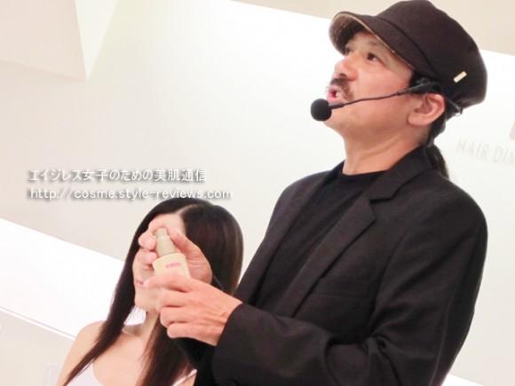 uruotteリペアミルク ヘアスタイリングのプロ橋本申二氏が監修
