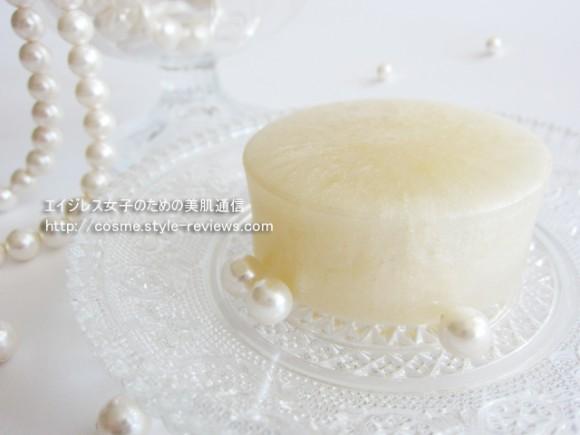 純国産シルクで洗う洗顔石鹸、天糸の絹珠(てんしのきぬたま)