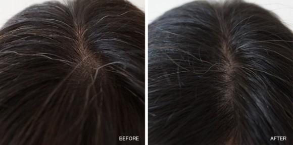 マリアンナプラス煌髪ヘアカラートリートメント10日間使用のビフォーアフター