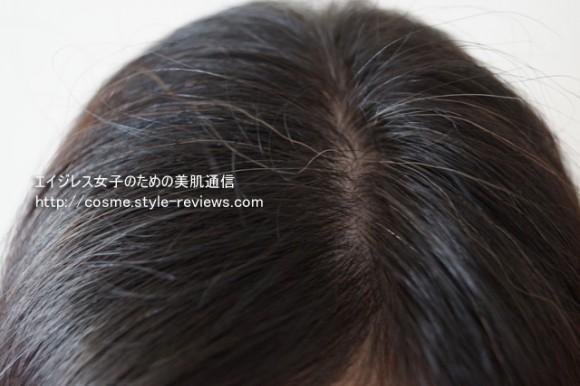 マリアンナプラス煌髪ヘアカラートリートメント10日間使用検証 10日目