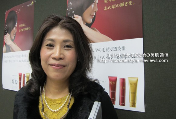 マリアンナプラス煌髪の開発者&社長の山口葉子先生