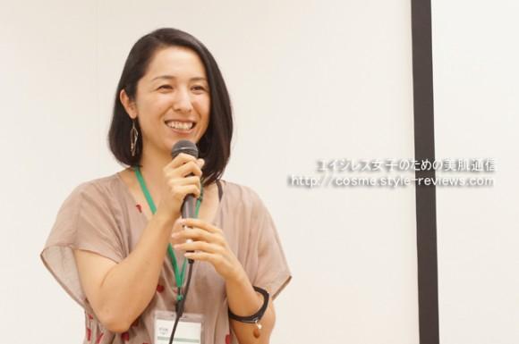 HANAオーガニック代表の林田七恵さん