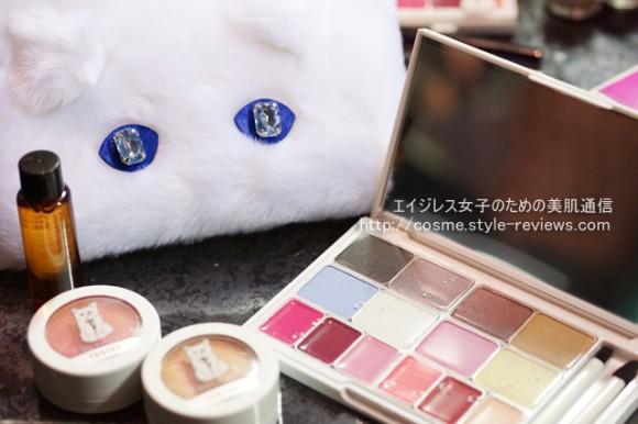 ファーポーチ付のシュペット クリスマスパレットキットshu uemura2014