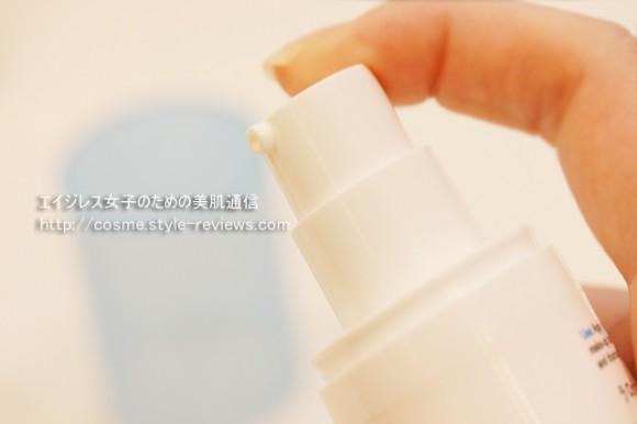 ラロッシュポゼのUVイデアXLアクアフレッシュジェルクリームはプッシュ式