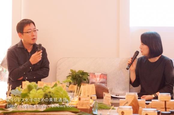 ココオーガニック開発秘話/開発責任者松本さんとブランドプロデューサー渡辺さん