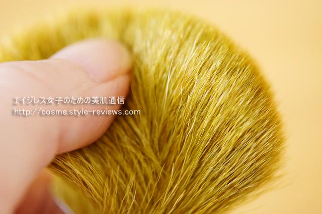 フローレスフェイスブラシの毛の詳細